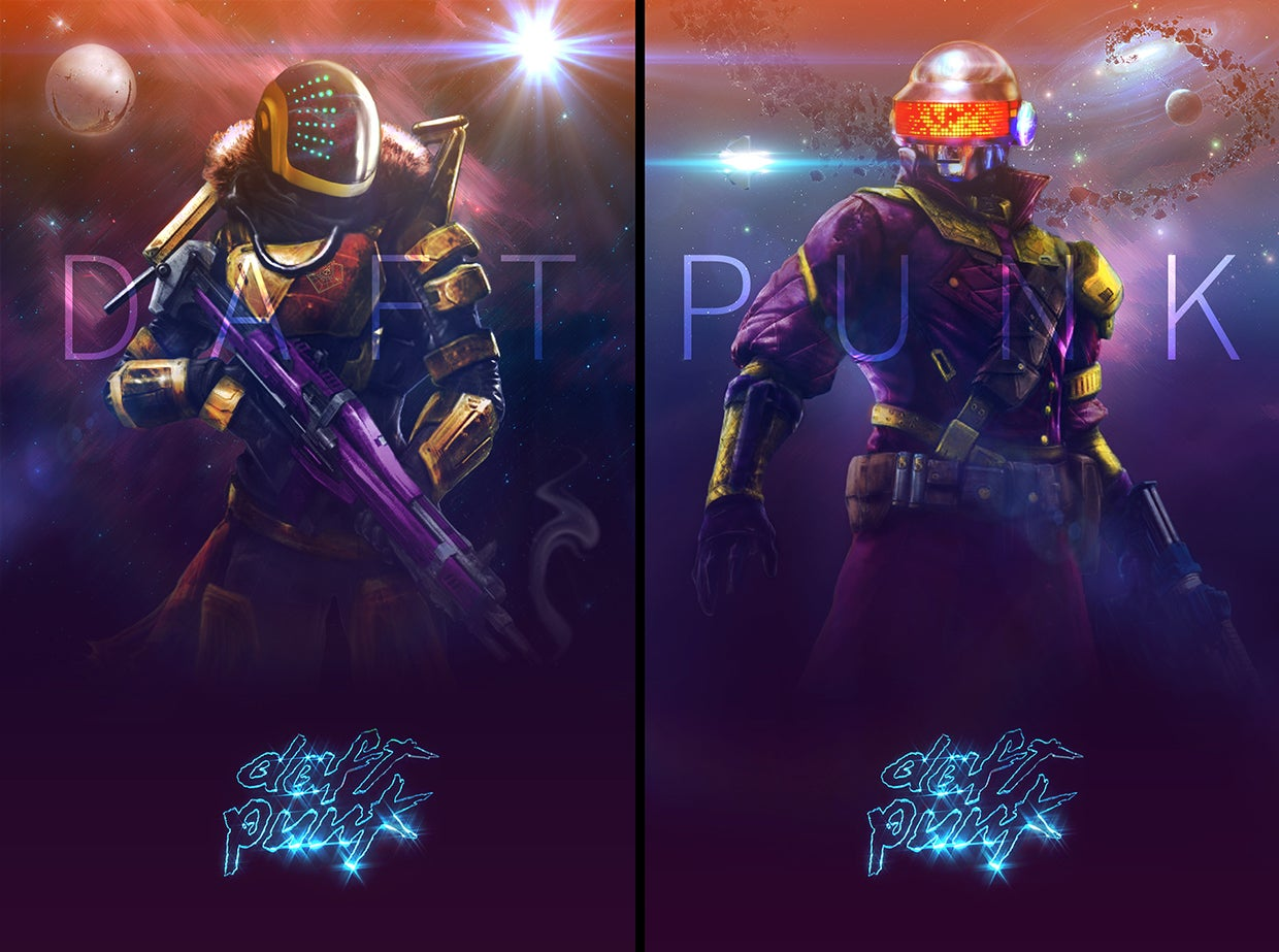 Dream Of A Destiny x Daft Punk Crossover
