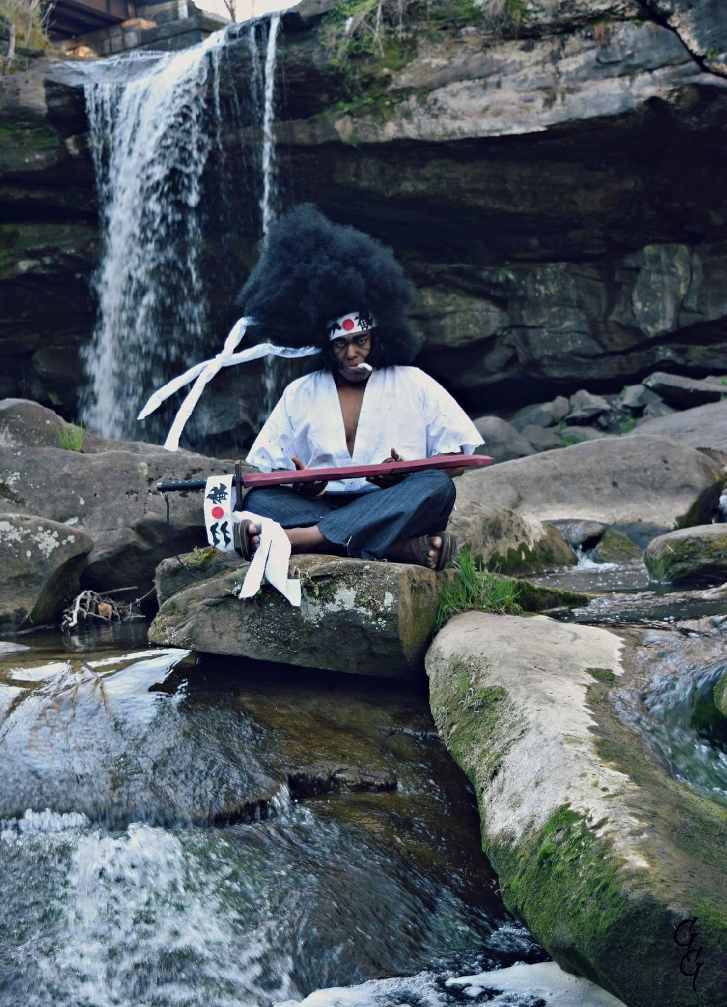 The World Needs More Afro Samurai Cosplay