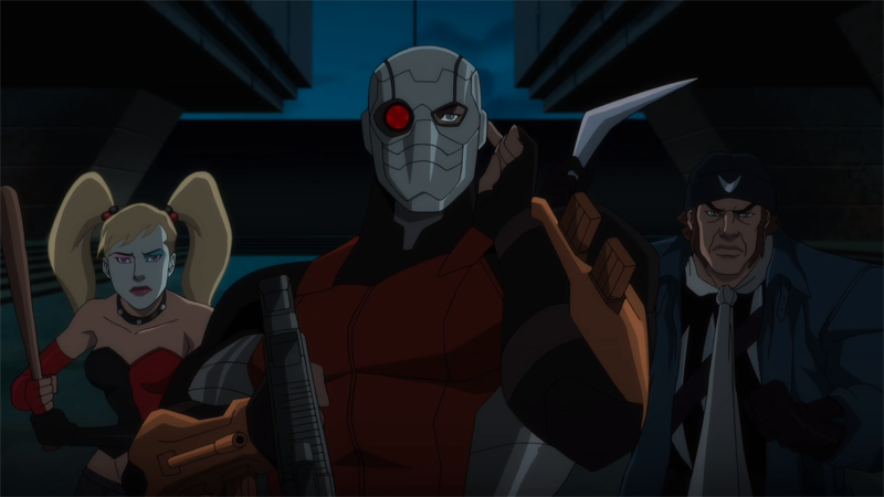 First Trailer For The Next Suicide Squad Animated Film Pits The Team Against Vandal Savage
