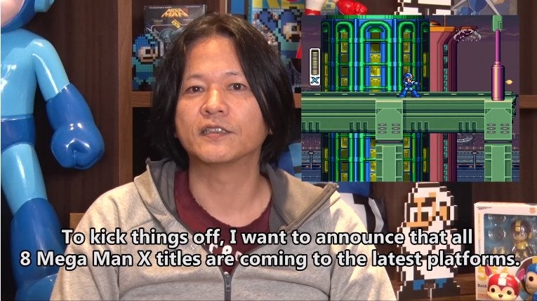 Mega Man XGames Coming To PS4, Xbox One, Switch And PC