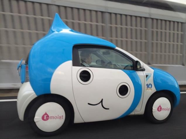 No, This Isn't a Dragon Quest Car