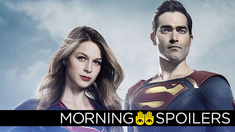 See Superman Get Ready To Take Flight On Supergirl