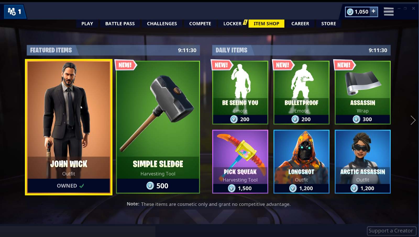 Fortnite S New John Wick Mode Is Basically Just Fortnite With Nice Suits It was released on may 16th, 2019 and was last available 66 days ago. fortnite s new john wick mode is