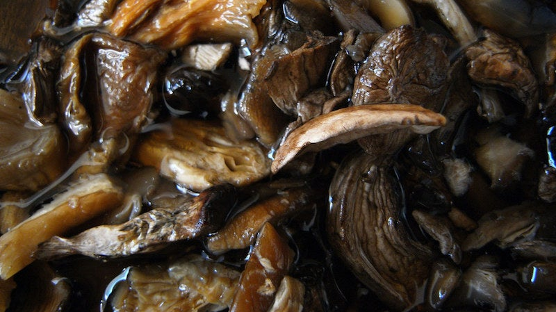 The Trick To Getting The Most Flavour Out Of Dried Mushrooms