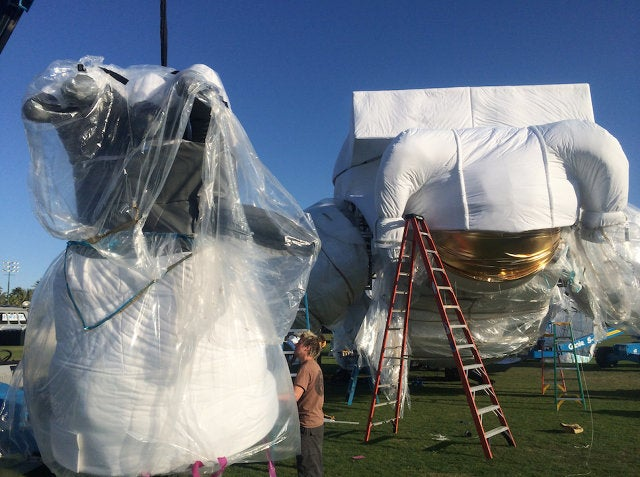 The Story Behind That Giant Astronaut Floating Around Coachella