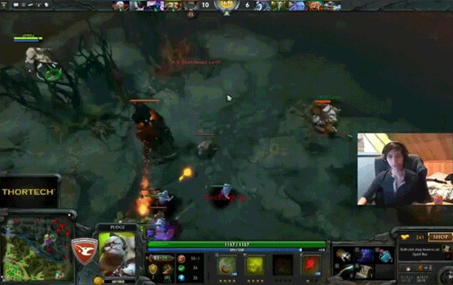 The Dota 2 Pro Who Wins In The Most Unlikely Way