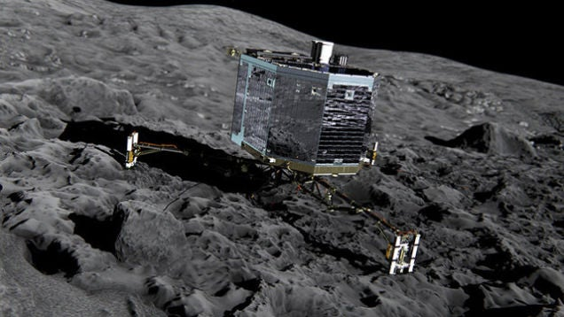 The Last Ditch Attempt to Prolong Philae's Life on a Comet