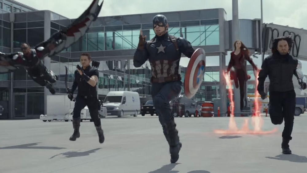 Team Cap Kicks Arse In The First Clip From Captain America: Civil War