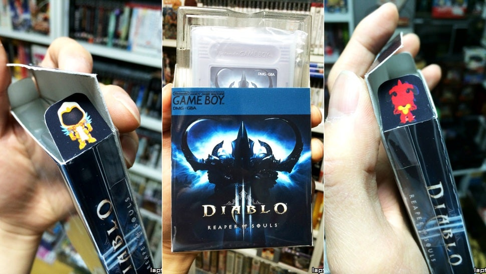 Diablo III: Reaper of Souls' Game Boy Version Isn't Always Online
