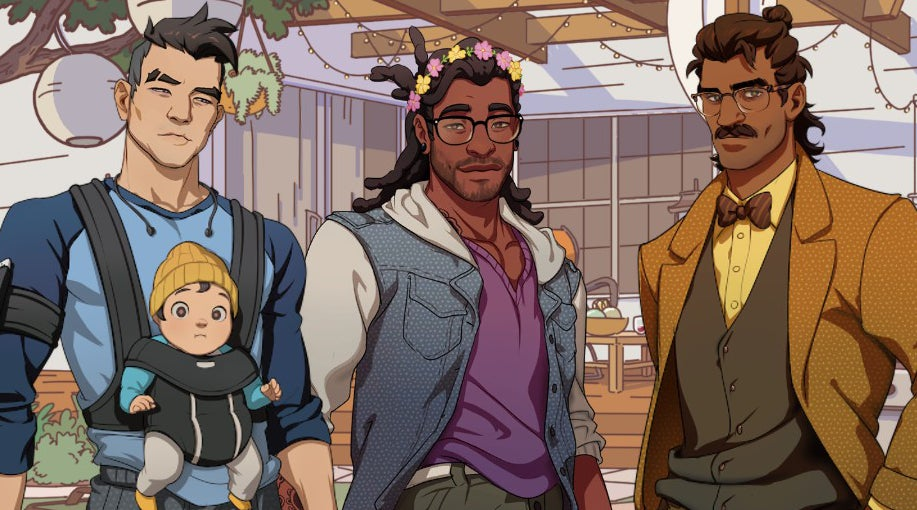How Dream Daddy's Creators Avoided Turning Homosexuality Into A Joke