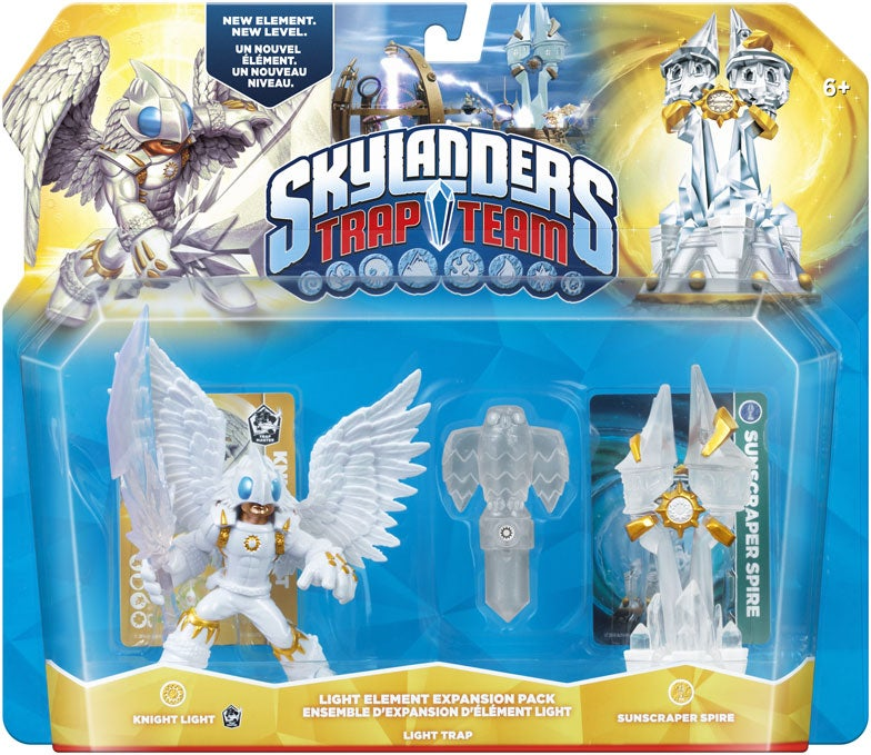 Skylanders Trap Team Introduces Two New Elements Light