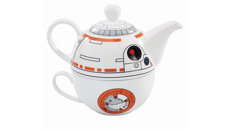 BB-8 Makes An Adorably Perfect Star WarsTeapot
