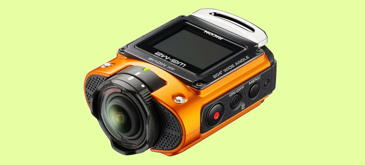 Ricoh's New Action Cam Captures 204 Degrees of Your Escapades