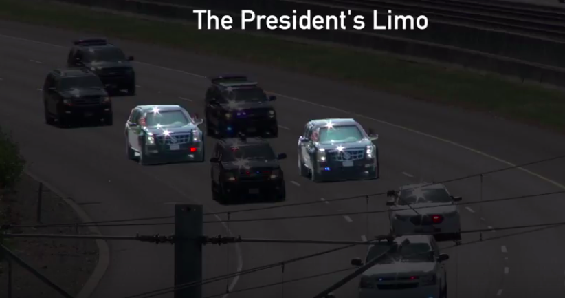Why It Costs The President $US2,614 Per Minute To Travel