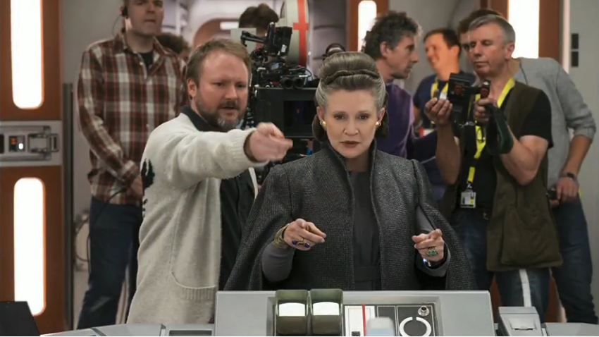 These The Last Jedi Set Pics From Director Rian Johnson Are Amazing