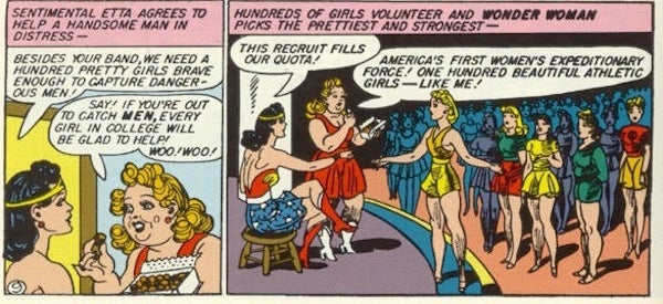 Image result for wonder woman etta candy holliday girls
