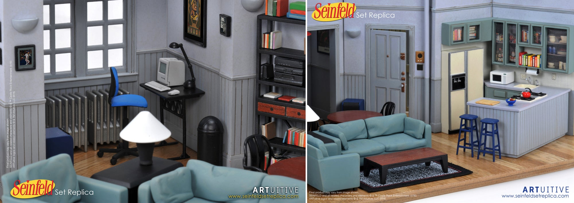 this flawlessly detailed tiny replica of seinfeld 39 s apartment costs us400 gizmodo australia. Black Bedroom Furniture Sets. Home Design Ideas