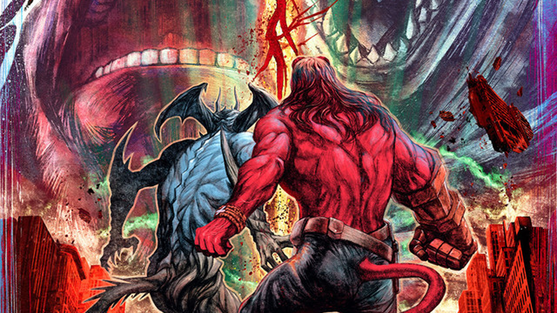Devilman And Hellboy Crossover Art Is Literally A Match Made In Hell