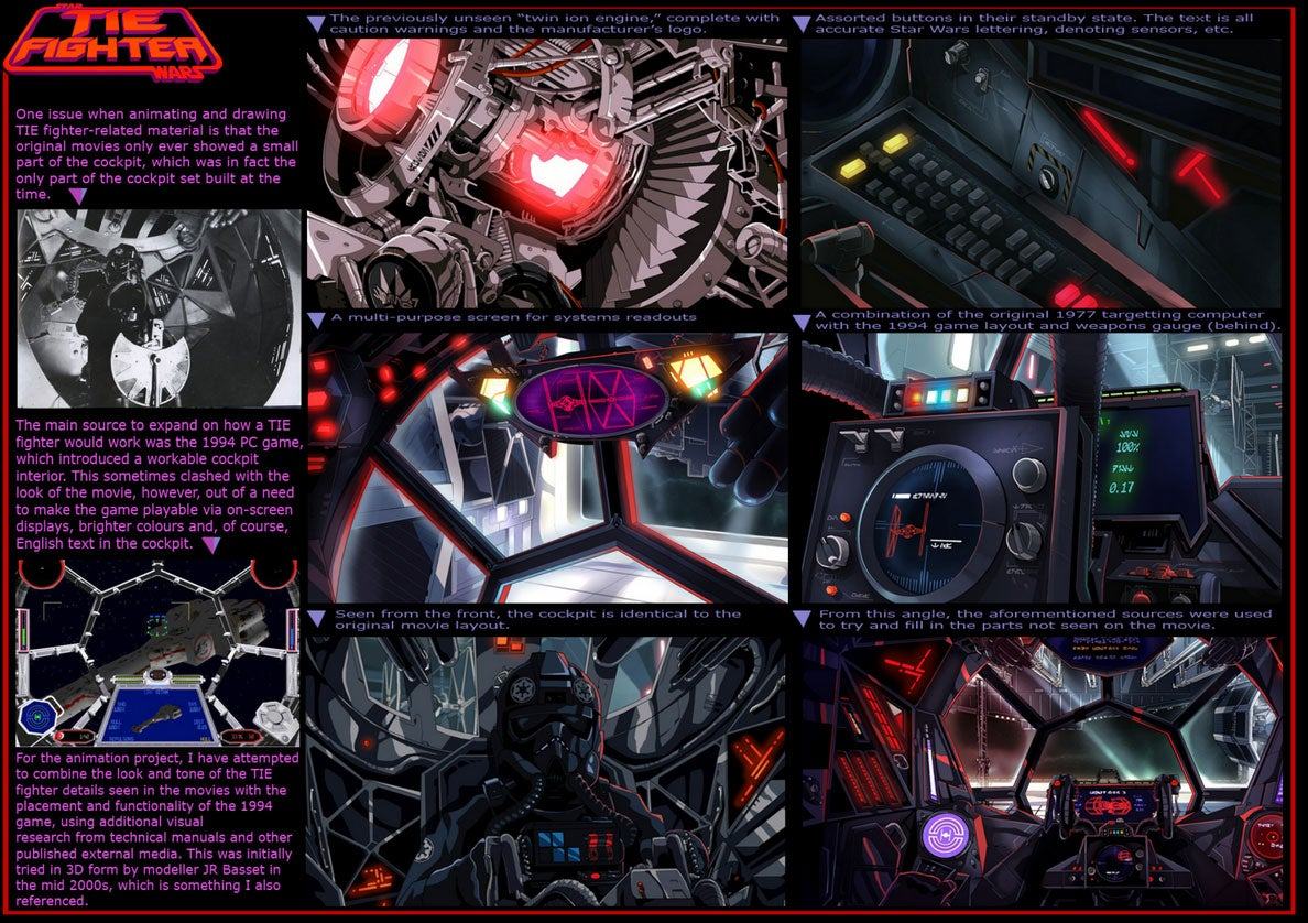 One Man Spent Four Years Making A Homage To The Video Game Tie Fighter