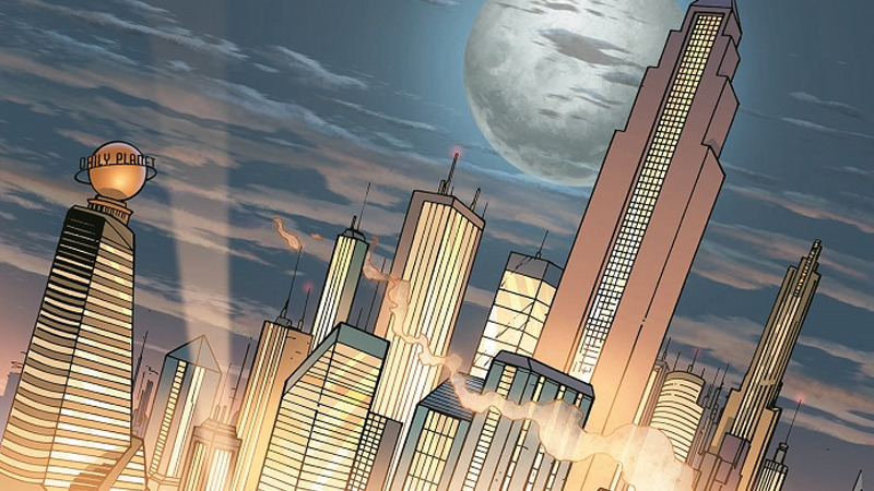 Lois Lane And Lex Luthor Are The Stars Of DC's Next Live-Action TV Series, Metropolis