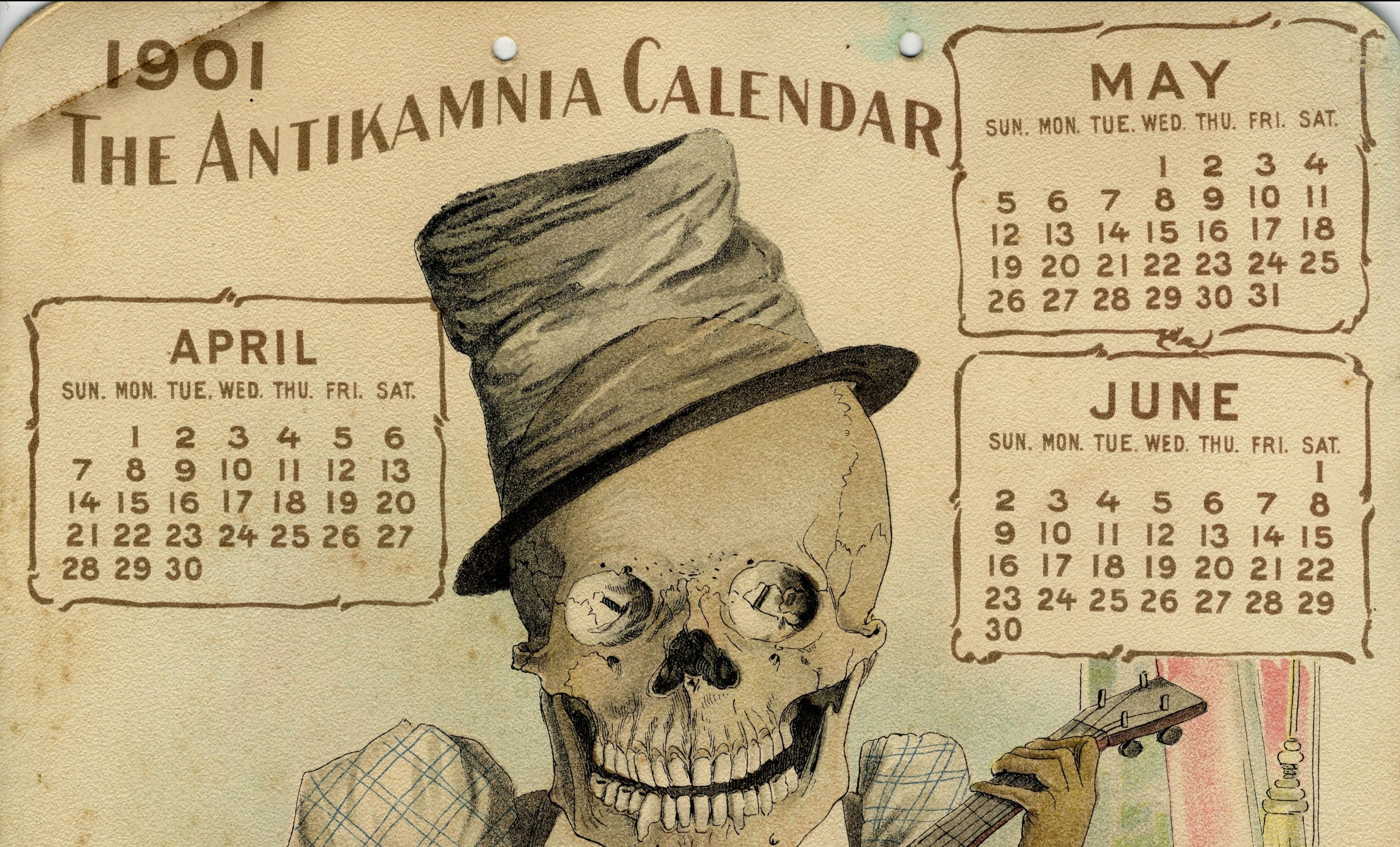 You Can Reuse These Vintage Calendars In 2019