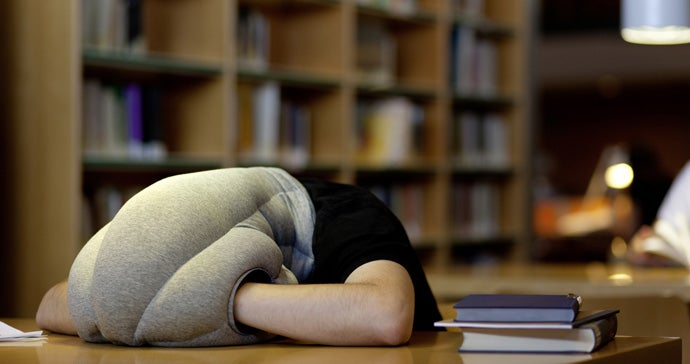 They Finally Made an Ostrich Pillow We Can't Mock