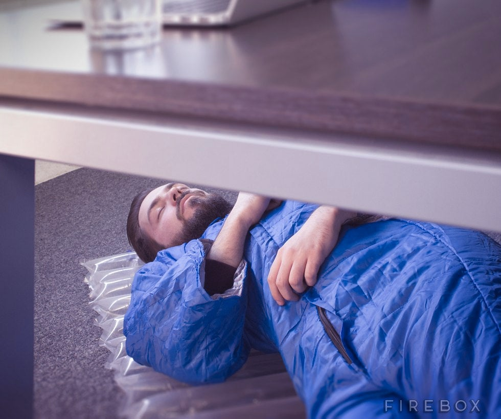 Emergency Nap Kit Has What You Need to Comfortably Sleep at Work