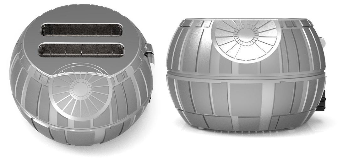 Innocent Slices of Bread Will Cower in Fear at This Death Star Toaster