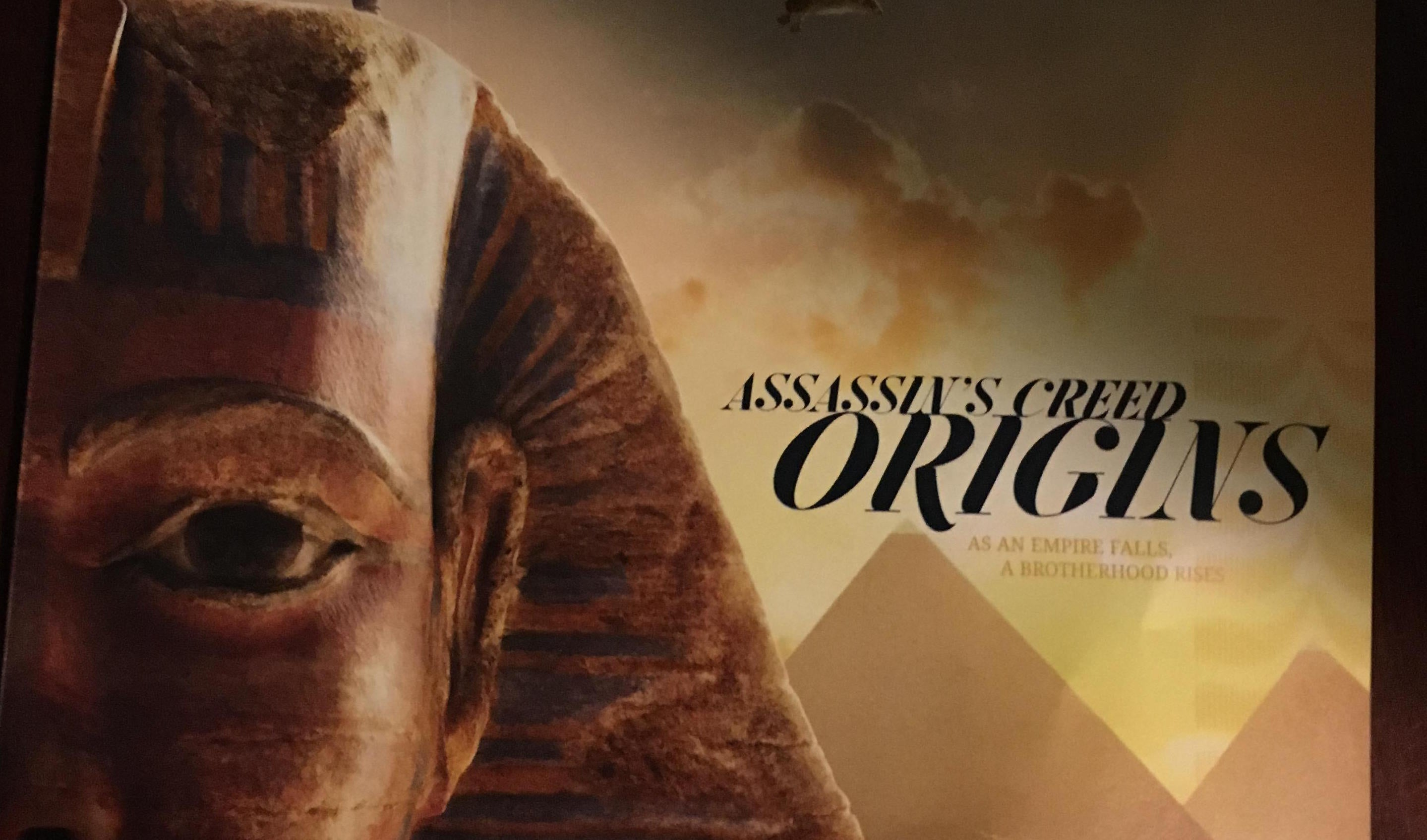 E3 2017: Ubisoft Properly Reveals Assassin's Creed: Origins