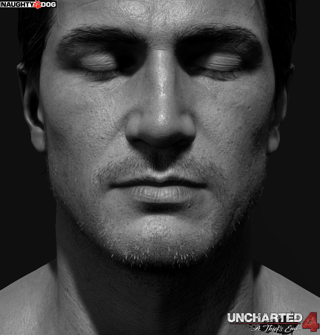 Nathan Drake Thinks He's On An Album Cover