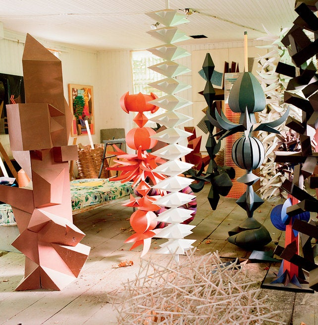 This Mid-Century Legend Made Sculptural Magic Out Of Plain Paper