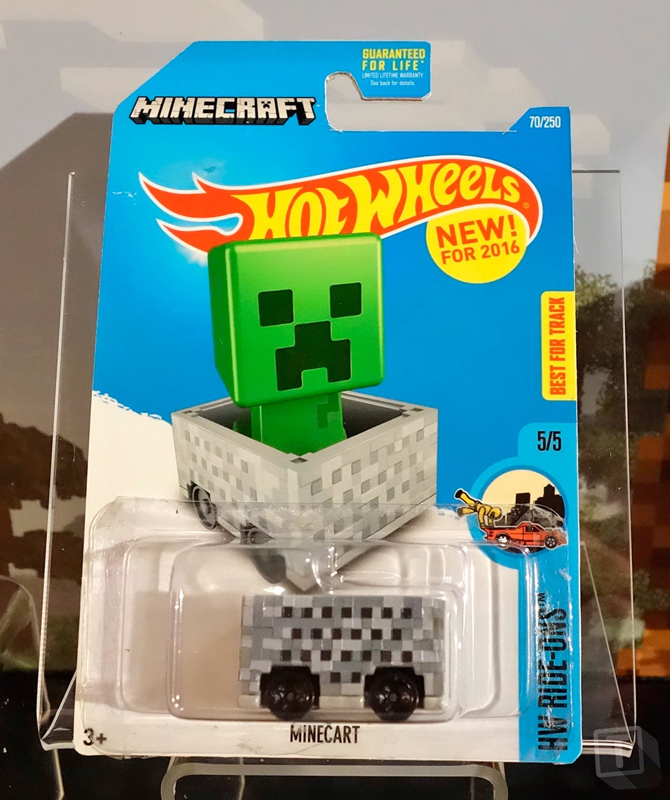 The First Minecraft Hot Wheels Car Is Just a Box on Wheels