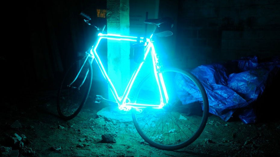 6 Ways To Turn Your House Into A Productive Home Environment: Turn Your Bike Into A Safe-At-Night TRON-Cycle With EL