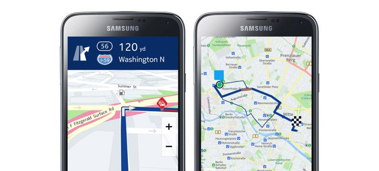 Samsung Is Getting Nokia's Here For Navigation