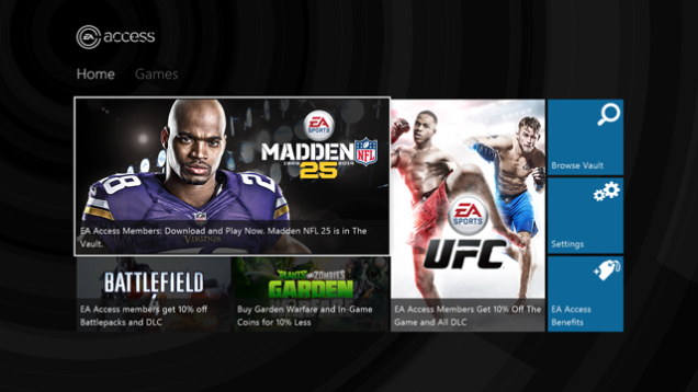 EA Access Is Now Live On The Xbox One