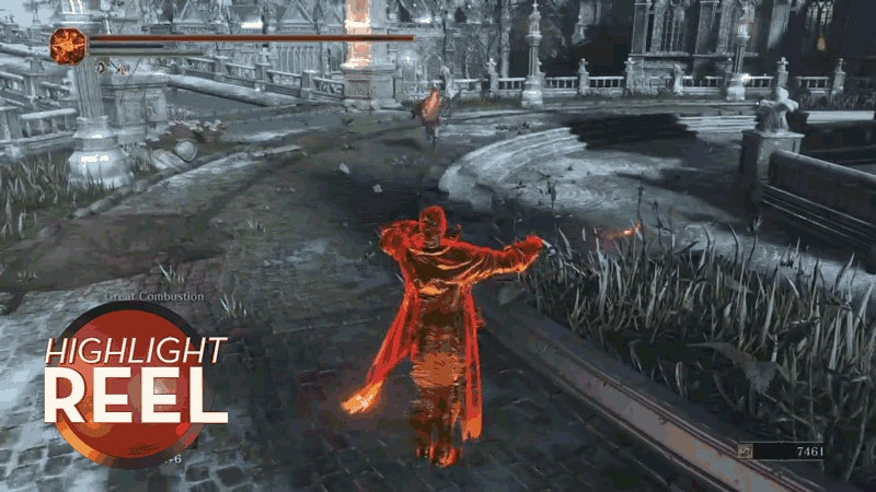 Never Interrupt A Dark Souls Sunbro