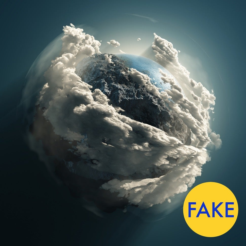 This Photo of Earth From the Hubble Telescope is Totally Fake