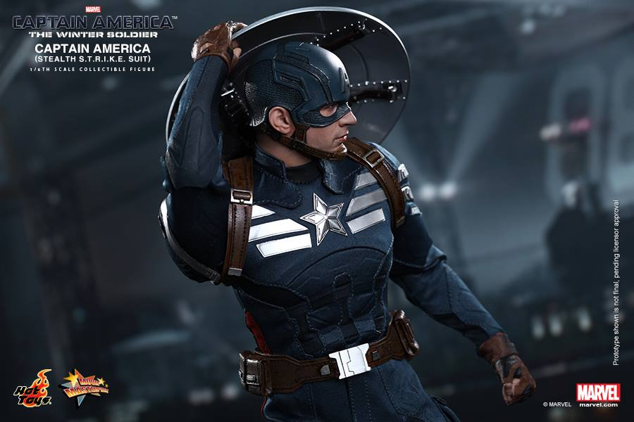 Captain America Action Figure Is Basically A Shrunken Chris Evans
