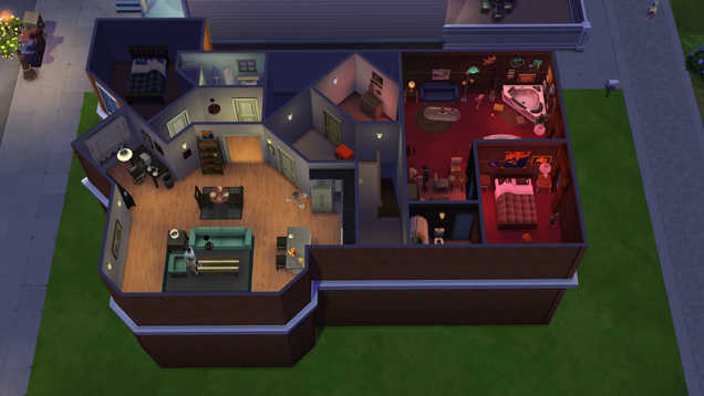 Seinfeld Meets The Sims 4