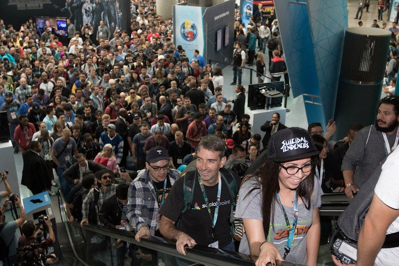 Take A Live Tour Of E3's Long Lines