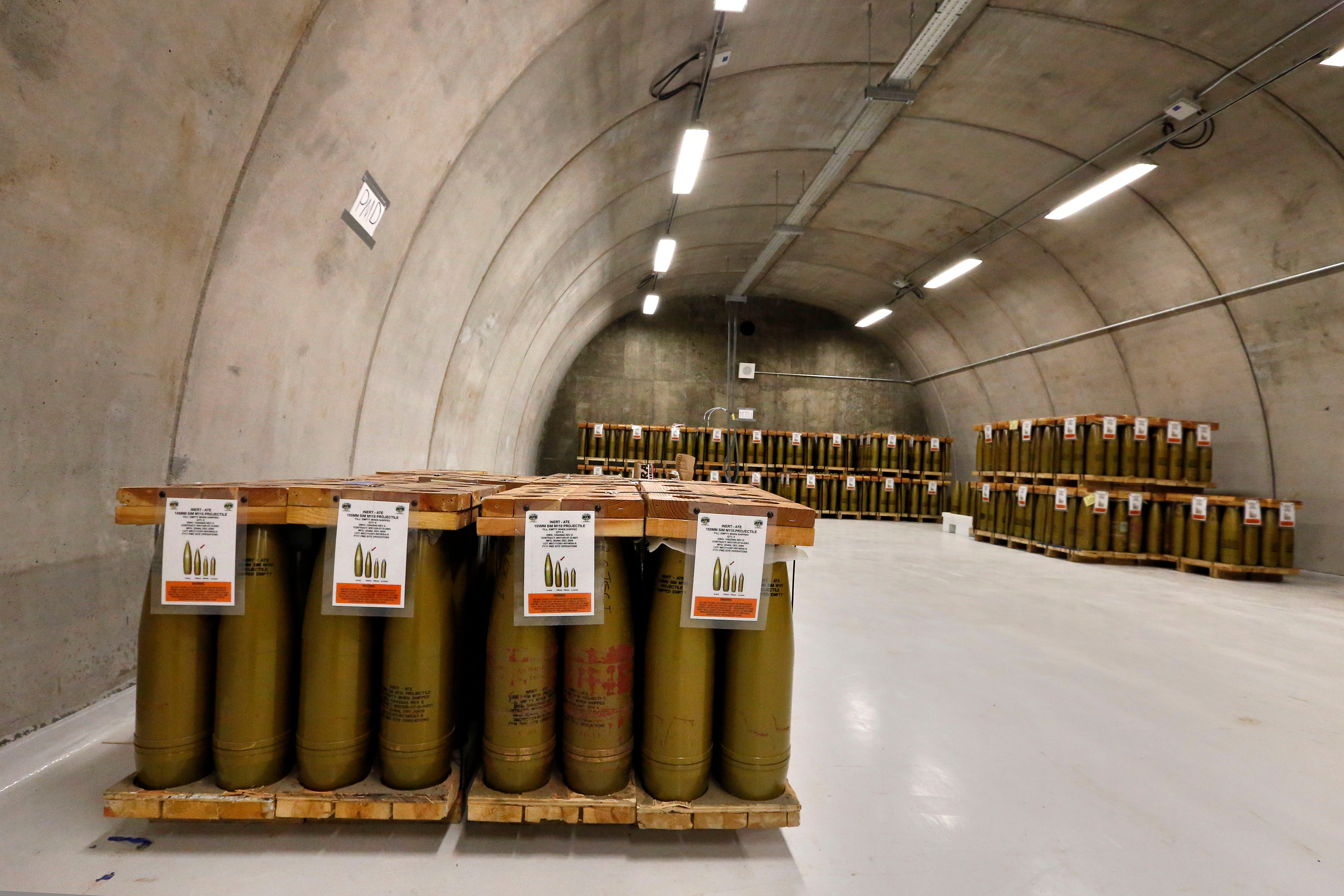 Inside the Bunkers Where the US Will Obliterate Its Chemical Weapons