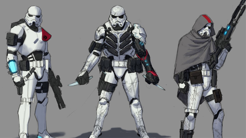 The Star Wars Comic S New Stormtroopers Look Absurdly