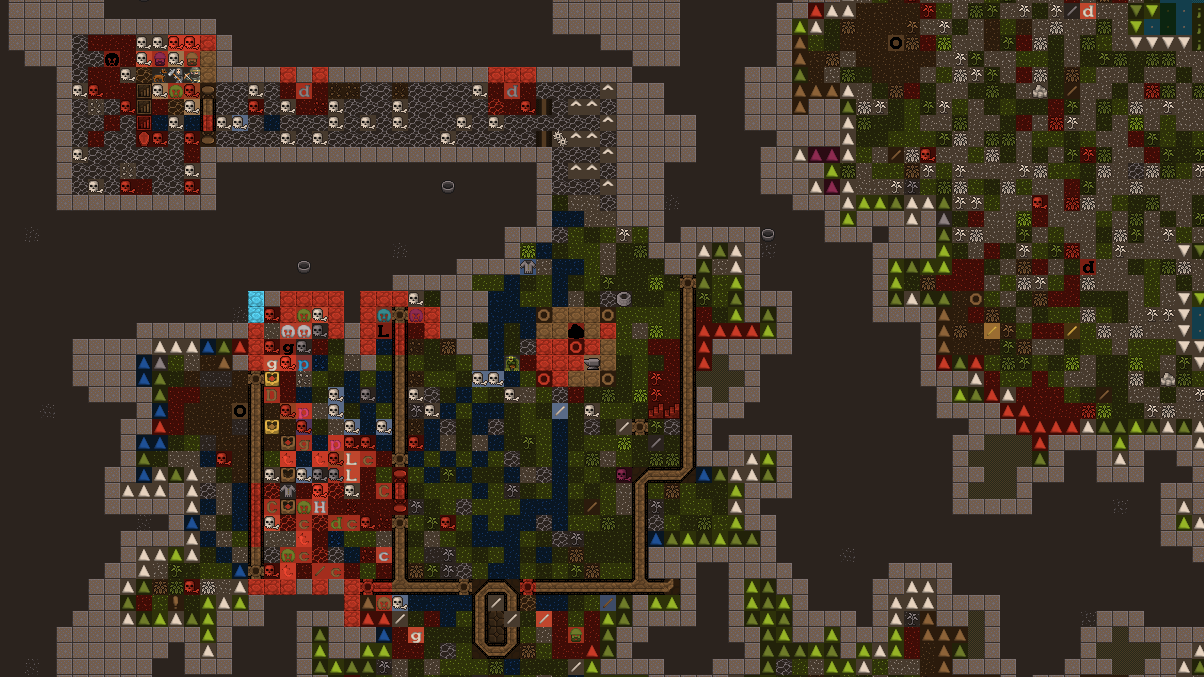 The Randomly Generated Art Made By My Dwarf Fortress Dwarves Is Terrible