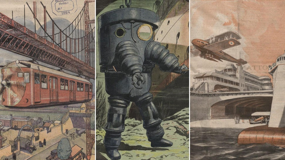 22 Incredible Images Show What the Future Looked Like 100 Years Ago