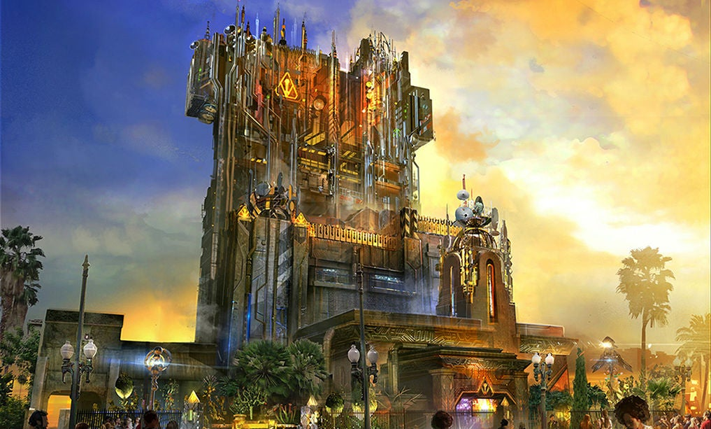 Here's The Best Look Yet At Disney's New Guardians Of The Galaxy Ride