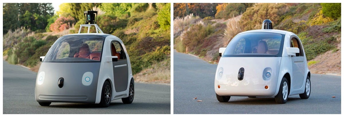 Here's Google's First Fully Functional Self-Driving Car Prototype