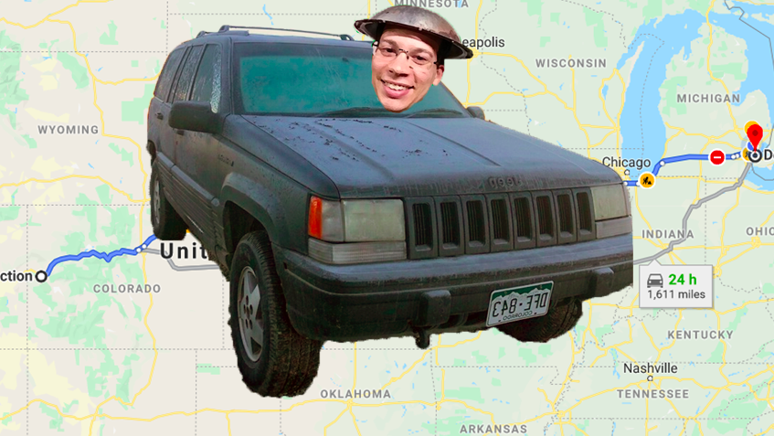Here's My Idiotic Plan To Drive A Broken 418,000KM 'Holy Grail Of Jeep Grand Cherokees' Across The Country