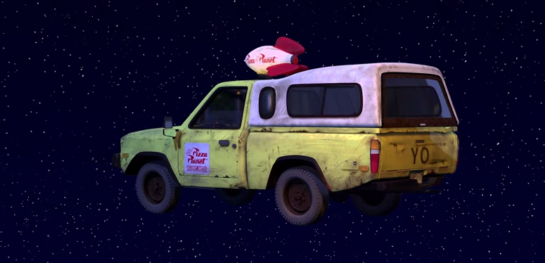 The Toy Story Truck That Is In Every Damn Pixar Movie
