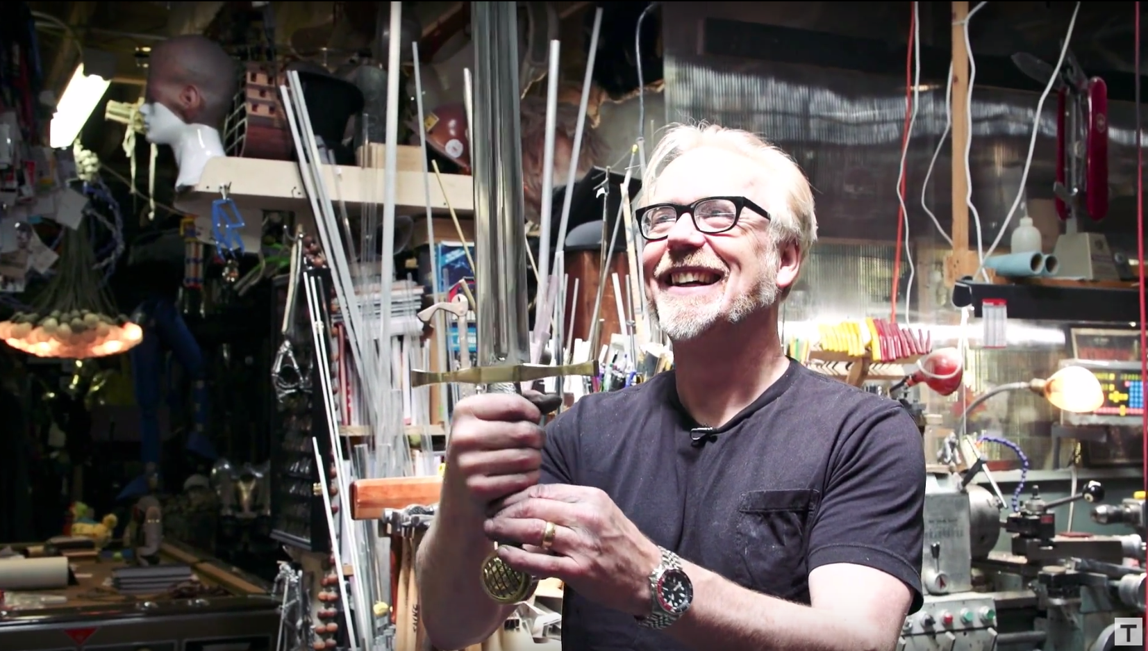 Watching Adam Savage Build A Replica Of Excalibur Will Help Quench Your Thirst For Battle