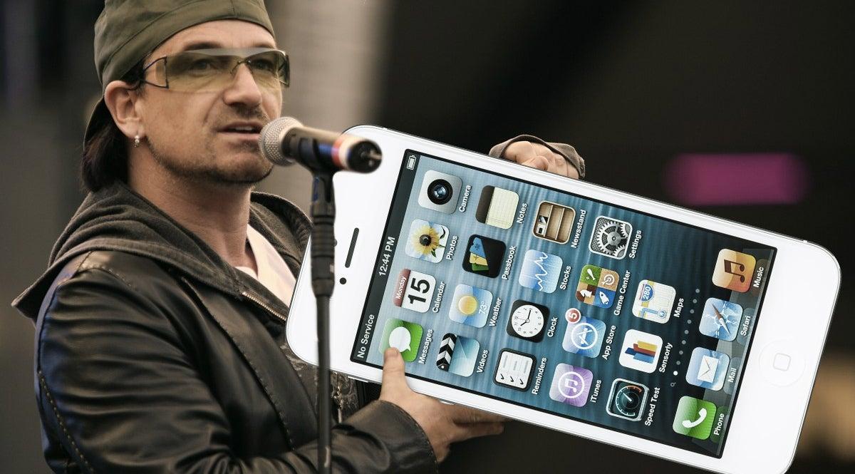 ITunes Comes With Free Bono
